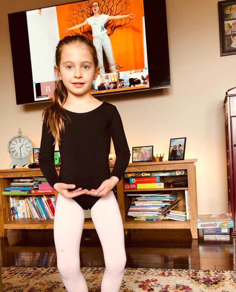 clases de baile online para niños 100% en inglés con profesoras nativas