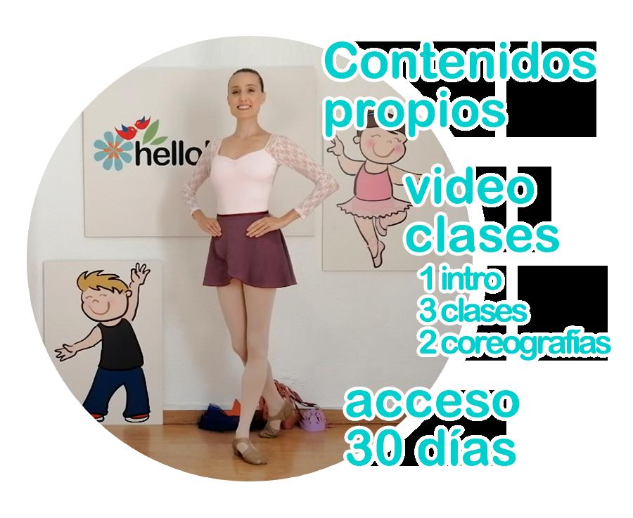 Video clases de baile online